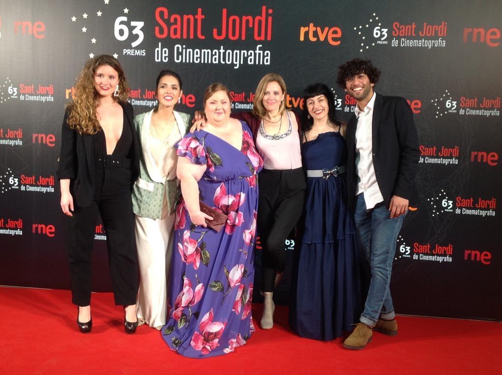Roser amills, itziar castro, cristina brondo y maria molins premi sant jordi de cinema 2019