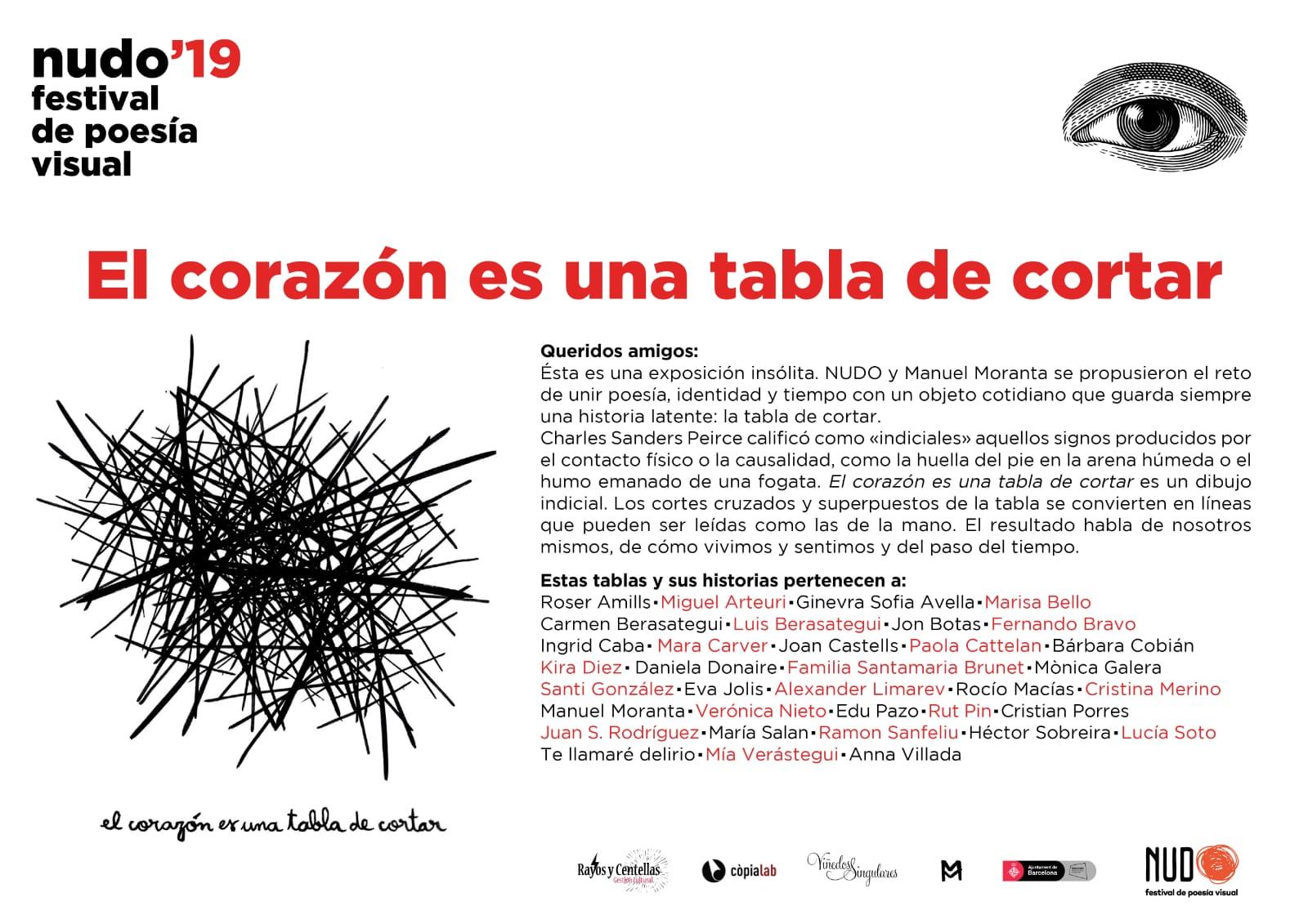 """Participo en la exposición """"El corazón es una tabla de cortar"""" en la Fabra i Coats"""