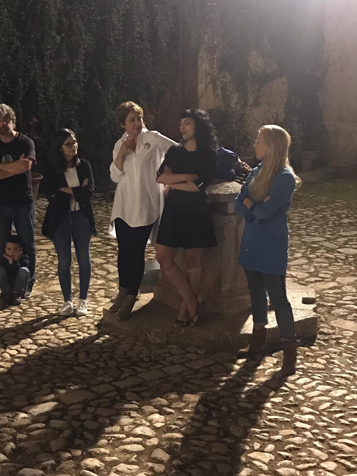 Roser Amills en el Foro Mujeres Que Marcan 2019 durante la previa en Raixa