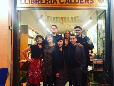 Conversación en la Librería Calders, Semana del libro argentino