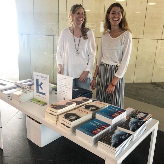 Novelas de Roser Amills en el Foro Mujeres Que Marcan 2019