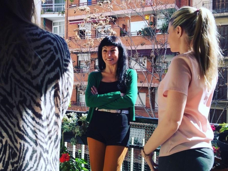 Otra foto de la presentación de ayer, con Maria Lapiedra en La Casa del Libro de Barcelona
