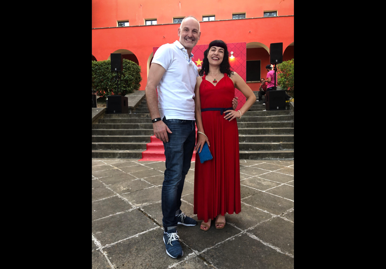 Jordi Flores i Roser Amills, festa d'estiu de l'Acadèmia del Cinema Català