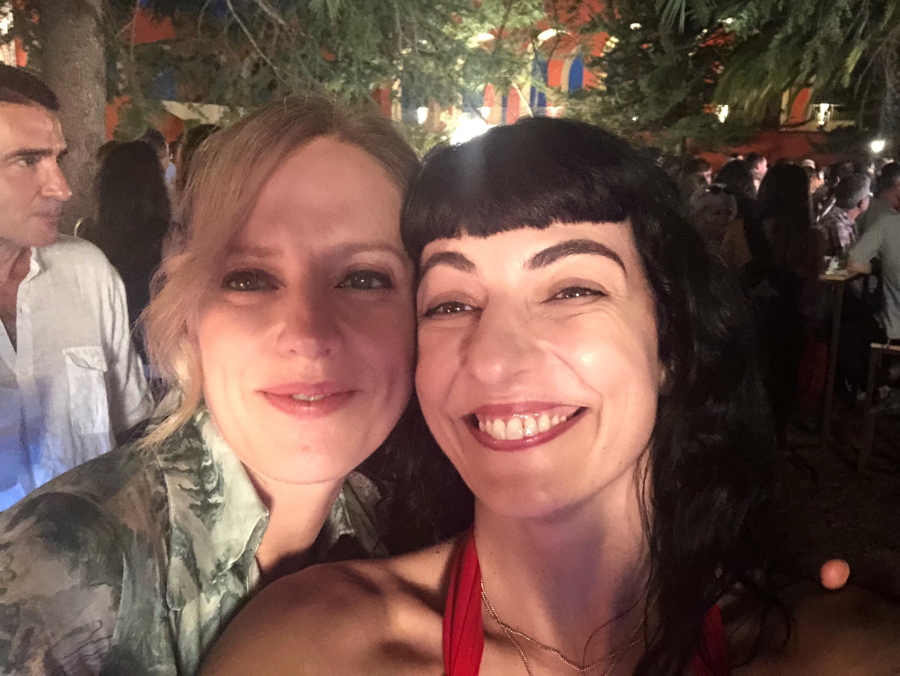 Maria Molins i Roser Amills, festa d'estiu de l'Acadèmia del Cinema Català