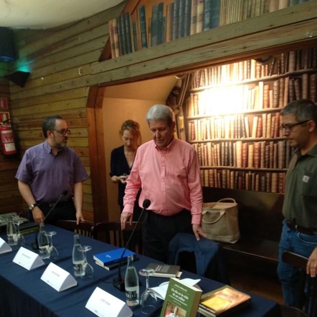 Así fue la mesa redonda de Jorge Herralde, Milena Busquets y Jordi Amat en Laie