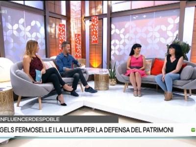 #sinfluencerdespoble Àngels Fermoselle Descobrim s'història de sa responsable de xarxes d'Arca Patrimoni