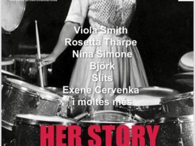 Àngels Bronsoms | Her story: una crònica del rock des d'una perspectiva feminista