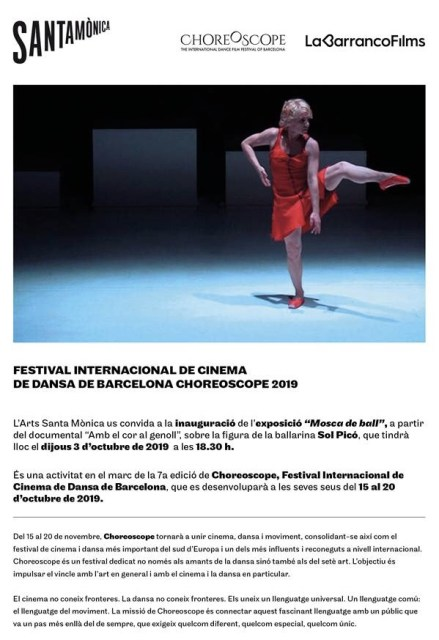 Inauguració exposició 'Mosca de Ball' de Sol Picó