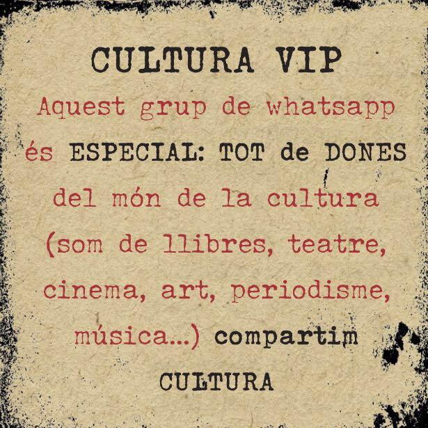 dones de cultura