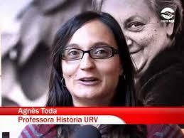 Agnes Toda i Bonet, llicenciada Filologia Catalana, activista cultural, traductora i membre Dep. Filologia Catalana de la Universitat Rovira i Virgili