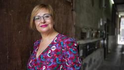 Gemma Pasqual, vicepresidenta pel País Valencià de l'Associació d'Escriptors en Llengua catalana i escriptora.