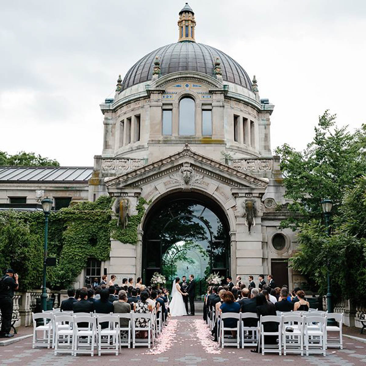 Wedding Ceremony at the Bronx Zoo