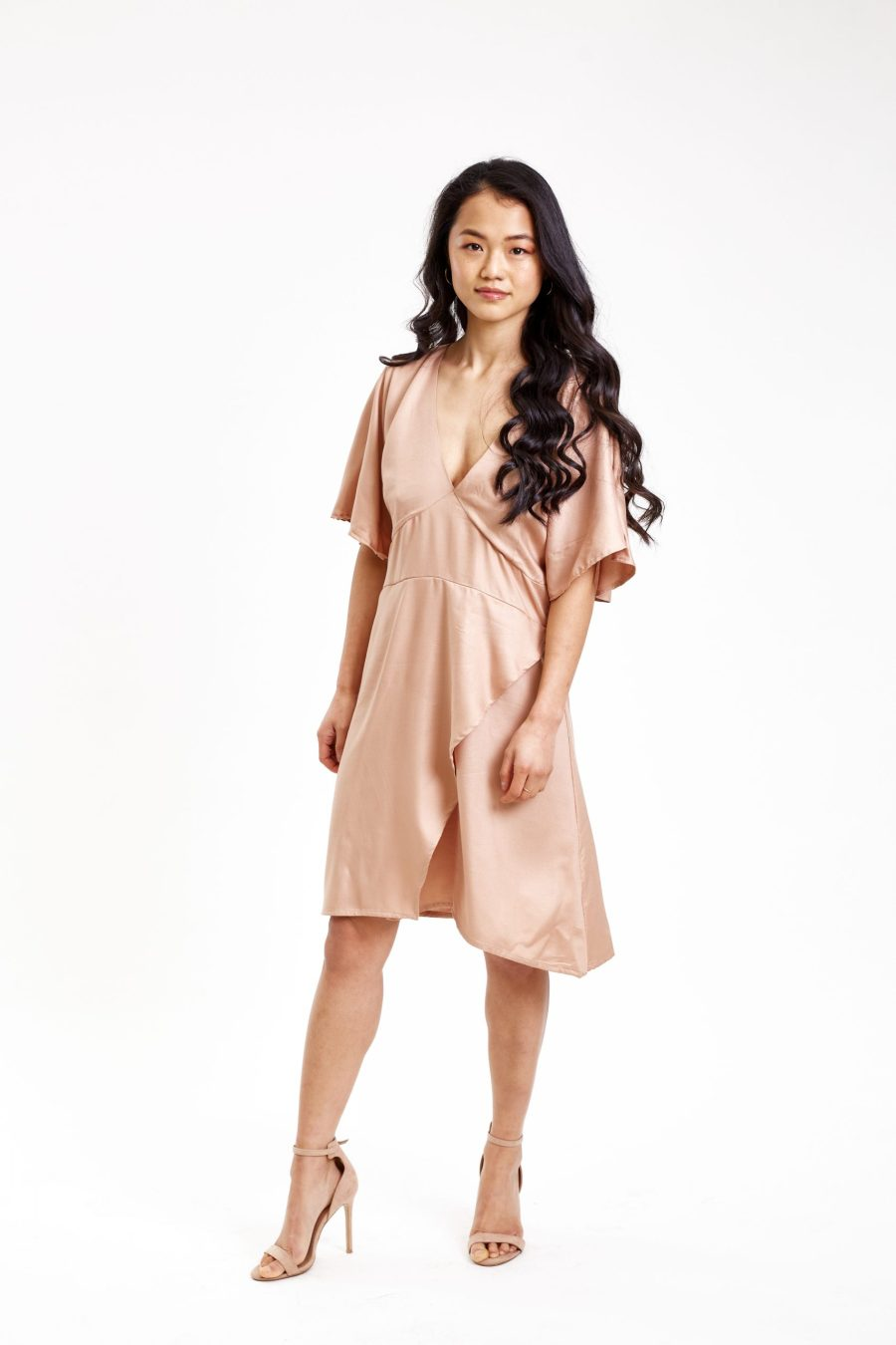 Butterfly maple dress outfit front