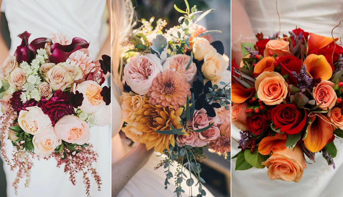 Top 20 Fall Wedding Bouquets For Autumn Brides