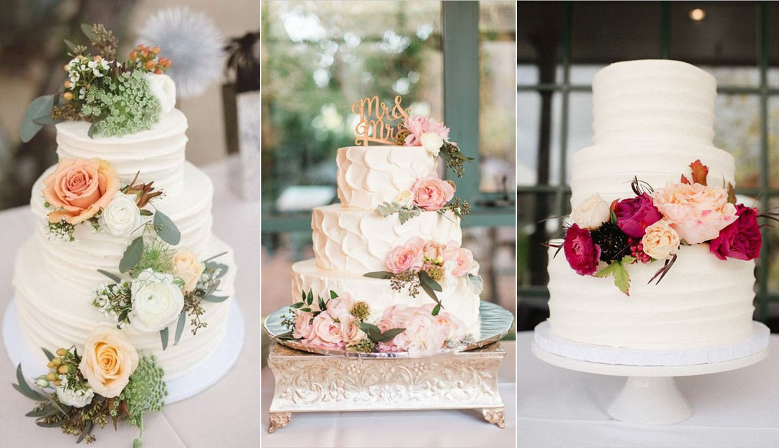 20 Sweetest Buttercream Wedding Cakes