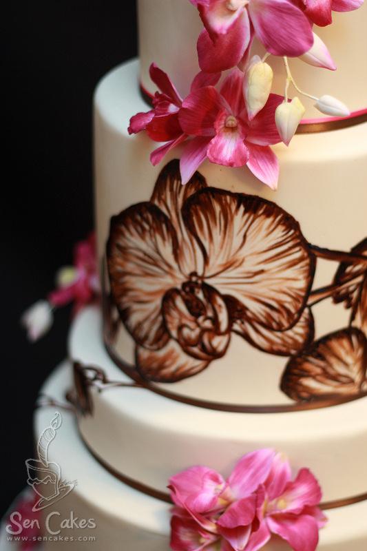 Sheriekas Blog This Wedding Cake Just Uses Artificial