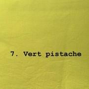 tissu coton épais vert pistache
