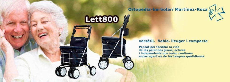 Lett800, versàtil i fiable a Ortopèdia Martínez-Roca de Roses