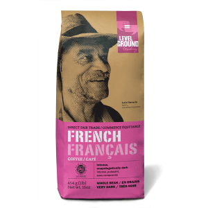 Level Ground French Roast coffee (Colombian, fair trade, organic) - Rosette Fair Trade online store