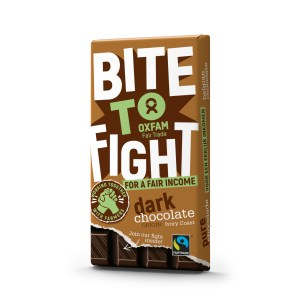 Fair trade Belgian dark chocolate 200g bar from Oxfam Fair Trade on Rosette