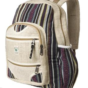 Fair trade backpack (hemp) from Ark Imports on Rosette Fair Trade