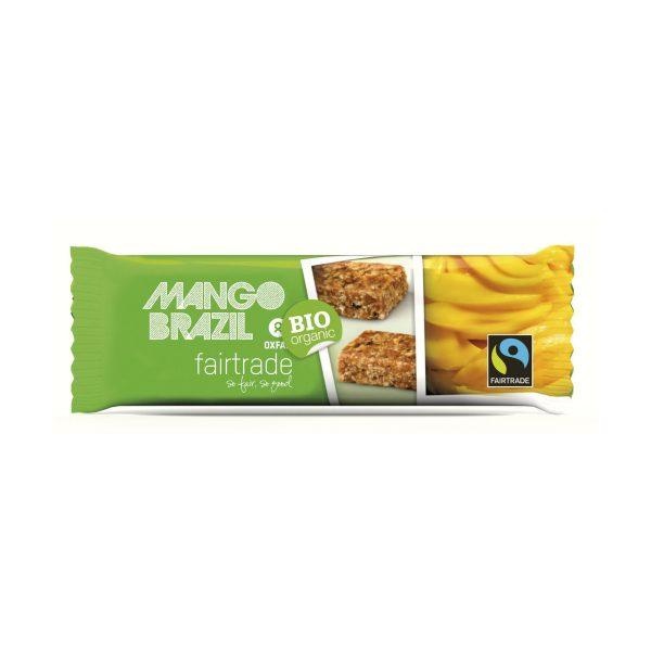 Mango Brazil nut snack bar (Oxfam Fair Trade) on Rosette Fair Trade