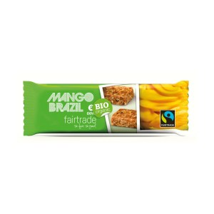 Mango Brazil nut snack bar (Oxfam Fair Trade) on Rosette Fair Trade