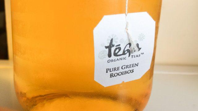Cold brew green rooibos iced tea on Rosette Fair Trade