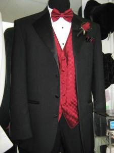4 button tuxedo coat by Jean Yves