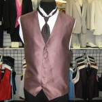 Full back vest and tie