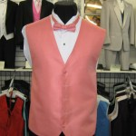 Great vest to match Quinceanear girls dress