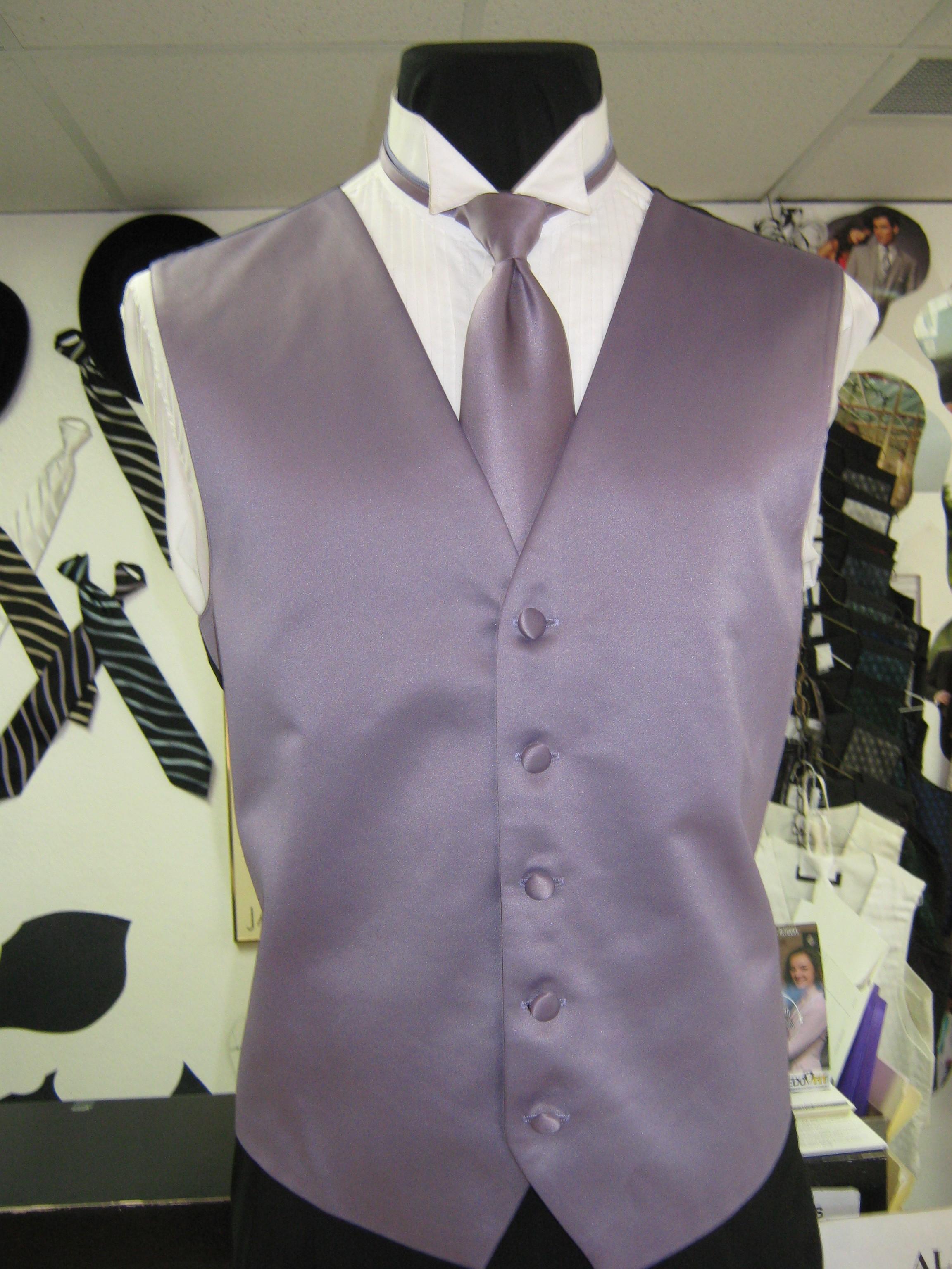 Formal Wear Vest And Tie Rose Tuxedo Wedding Tuxedo