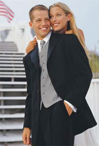 Rent your Tuxedo before you board!