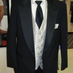 Navy Blue men's tuxedo, Midnight blue, slate blue