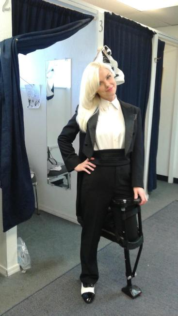 Women suits worn by our beautiful customer