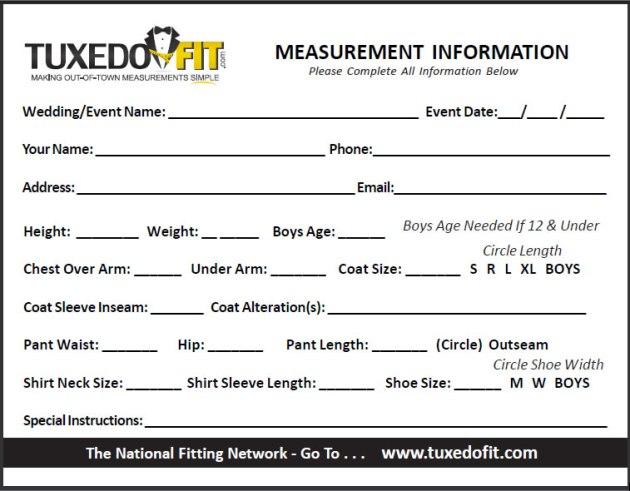measurement-form