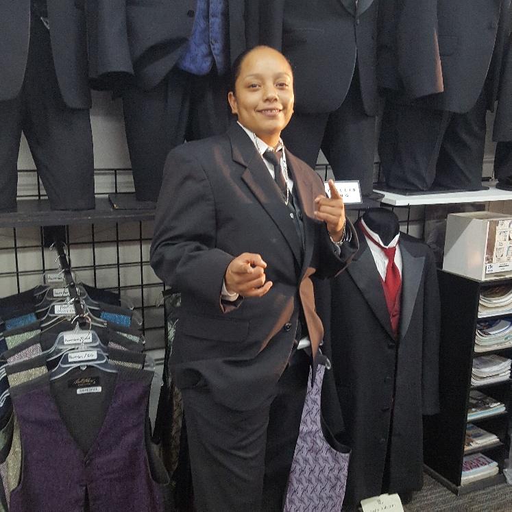 Tuxedo for ladies
