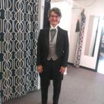 women tuxedo