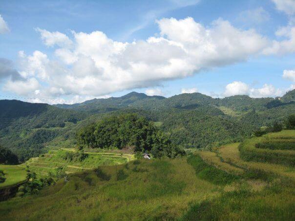 Banaue, camino a los arrozales