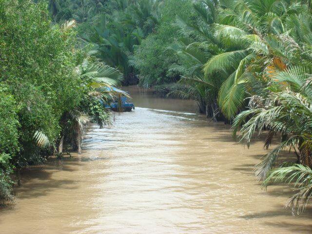 Navegando el río Mekong, Vietnam