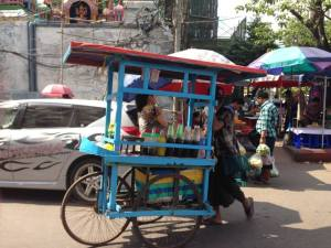 Yangón, paseando