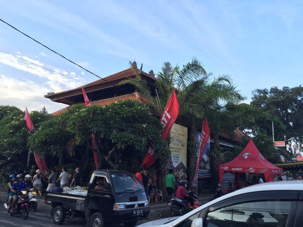 Ubud y sus calles, siempre llenas.