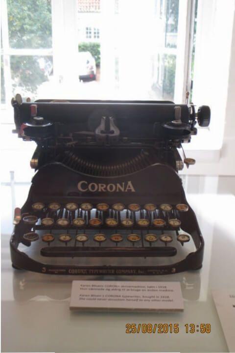 Máquina de escribir historias. Rungsted, Dinamarca