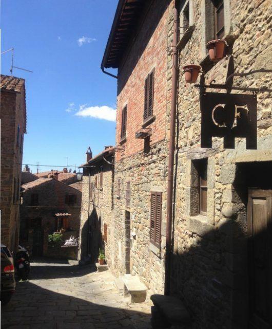 Calles de Cortona.