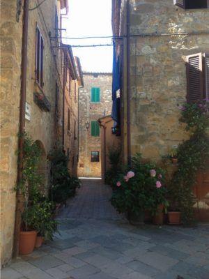 Calles de Pienza, La Toscana.
