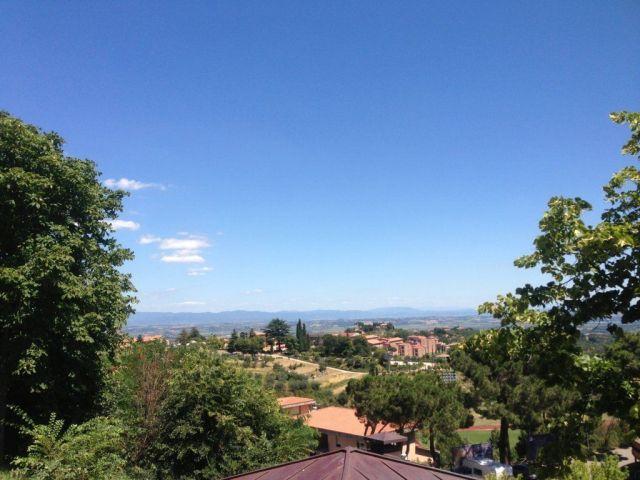 Llegamos a Cortona.
