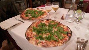 Pizza en Torita di Siena