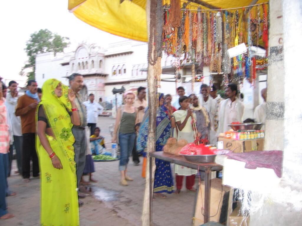 Mercados en la India. Jhansi.
