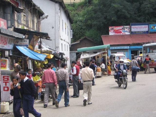Calles de Shimla