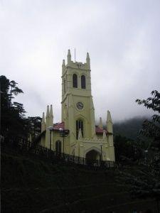 Iglesia de Shimla.